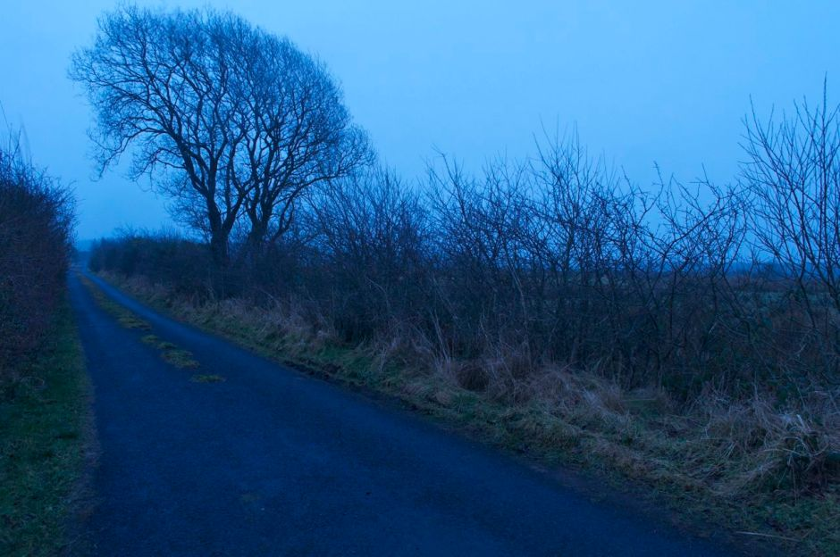 9th March 2013, 6.50am- a wet day